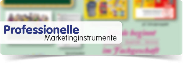 Marketinginstrumente für den Fachhandel