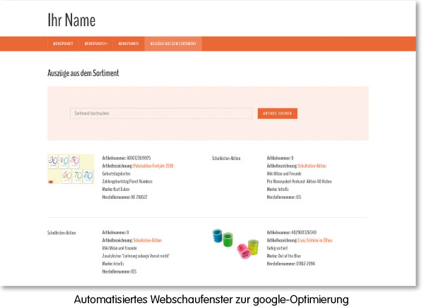 Webseitenbaukasten Homepageprofi